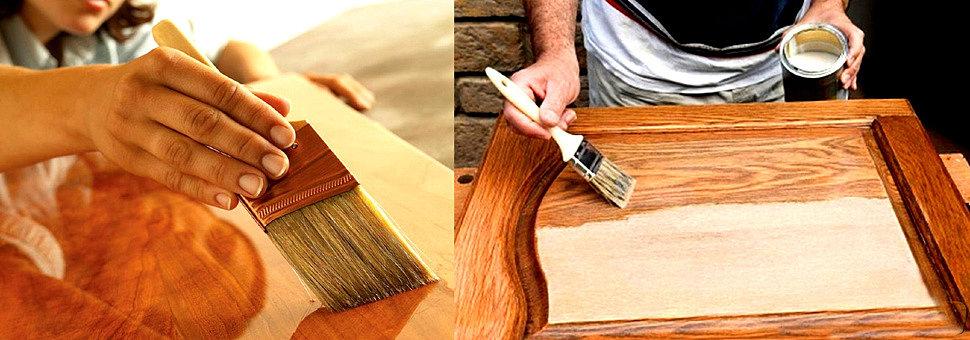 Очистить мебель от краски