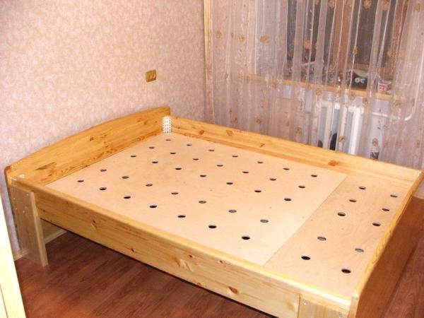 Кровать своими руками материалы