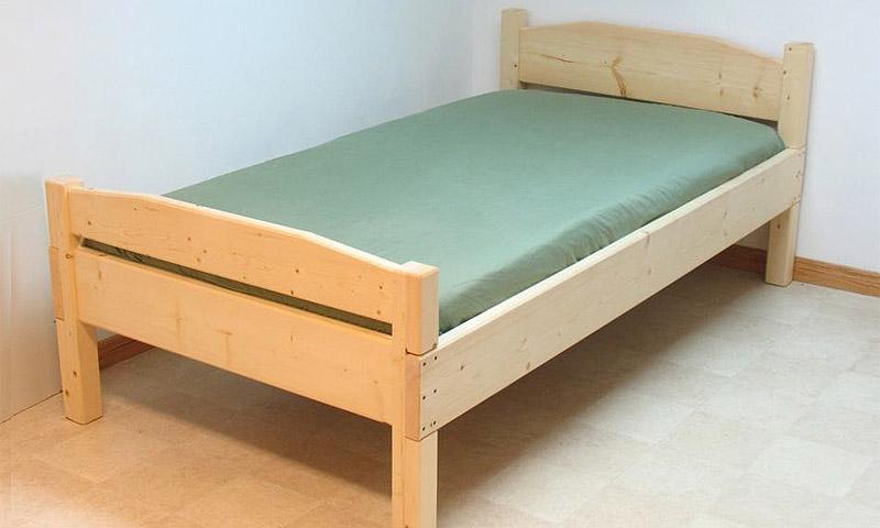 Фото кровать из досок своими руками