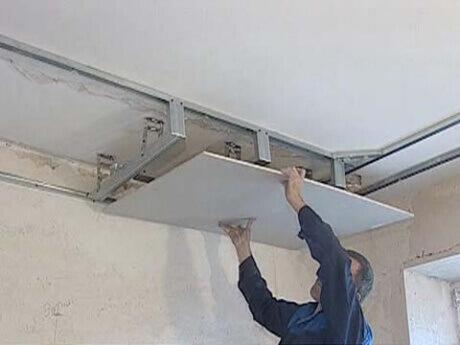 Как сделать своими руками потолки