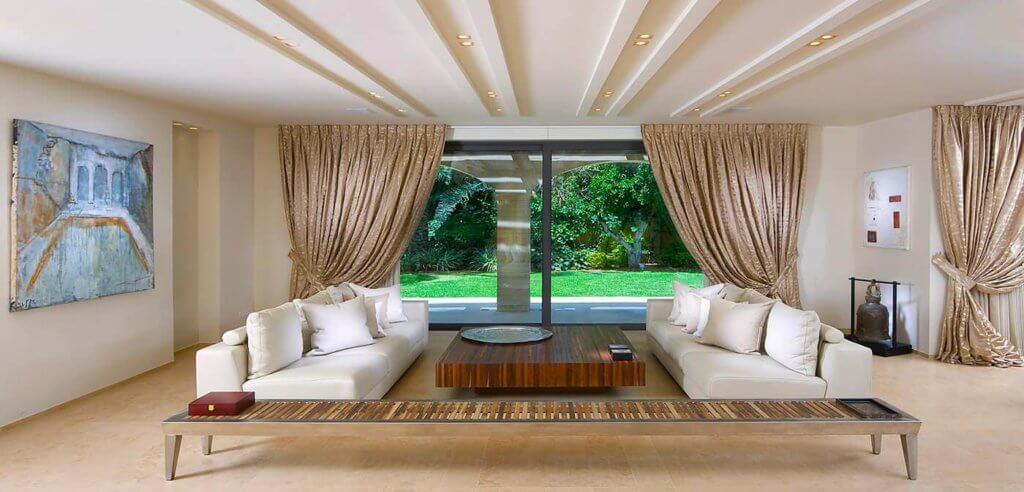 Как сделать визуально потолок выше с помощью потолка