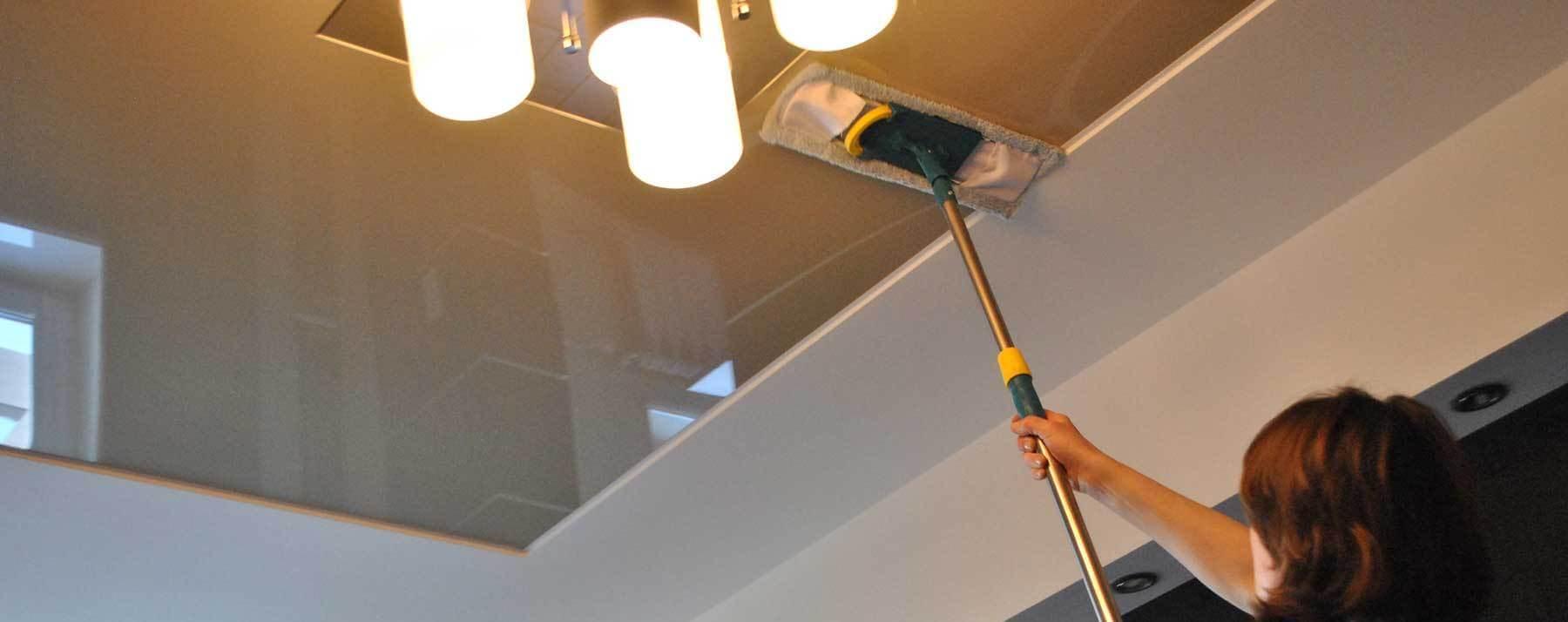 Глянцевые потолки в домашних условиях 766