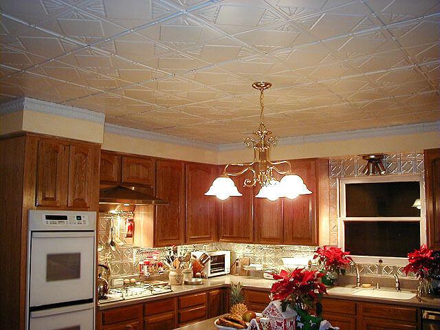 Потолки для кухни своими руками 380
