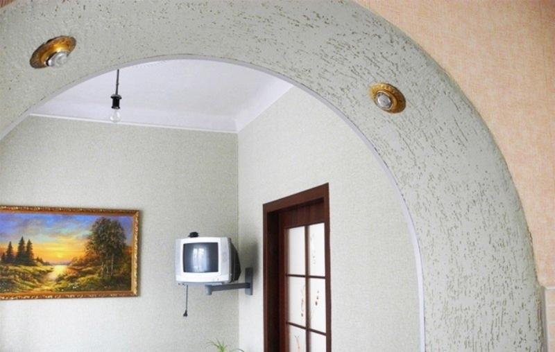 Как красиво отделать красиво арку в квартире