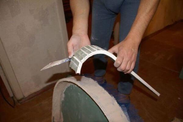 Как сделать форму из гипсокартона 599