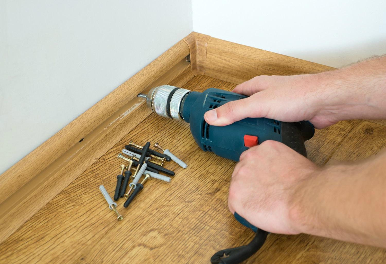 Как сделать деревянные плинтуса своими руками 45