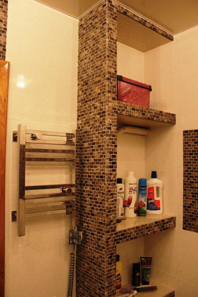 Как сделать полочки в ванную