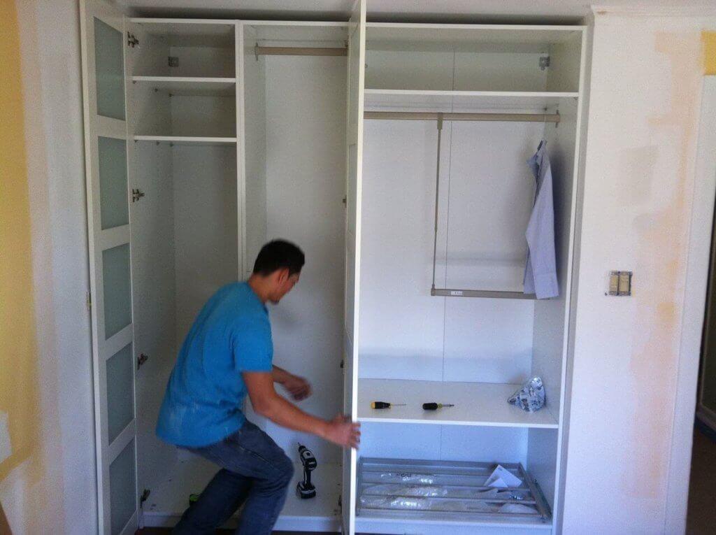 Встроенный шкаф купе своими руками ютуб