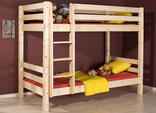 Двухъярусная кровать для ваших детей