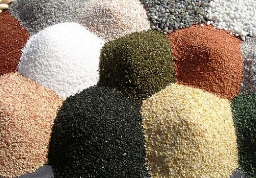 Различные размеры зерна