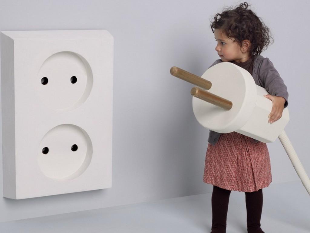 Розетки в детских комнатах