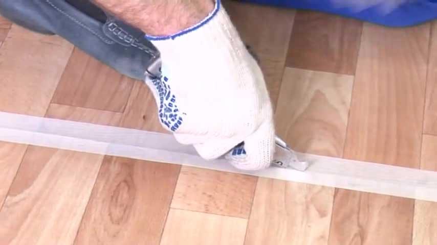 Укладка линолеума своими руками пошаговая инструкция видео