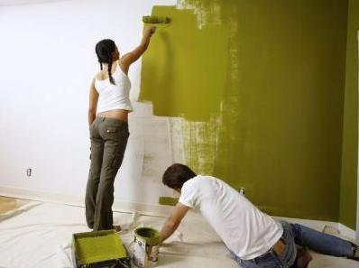 Как нанести краску на стены своими руками