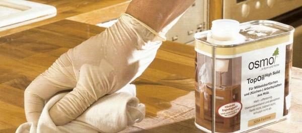 Пропитка маслом деревянных поверхностей