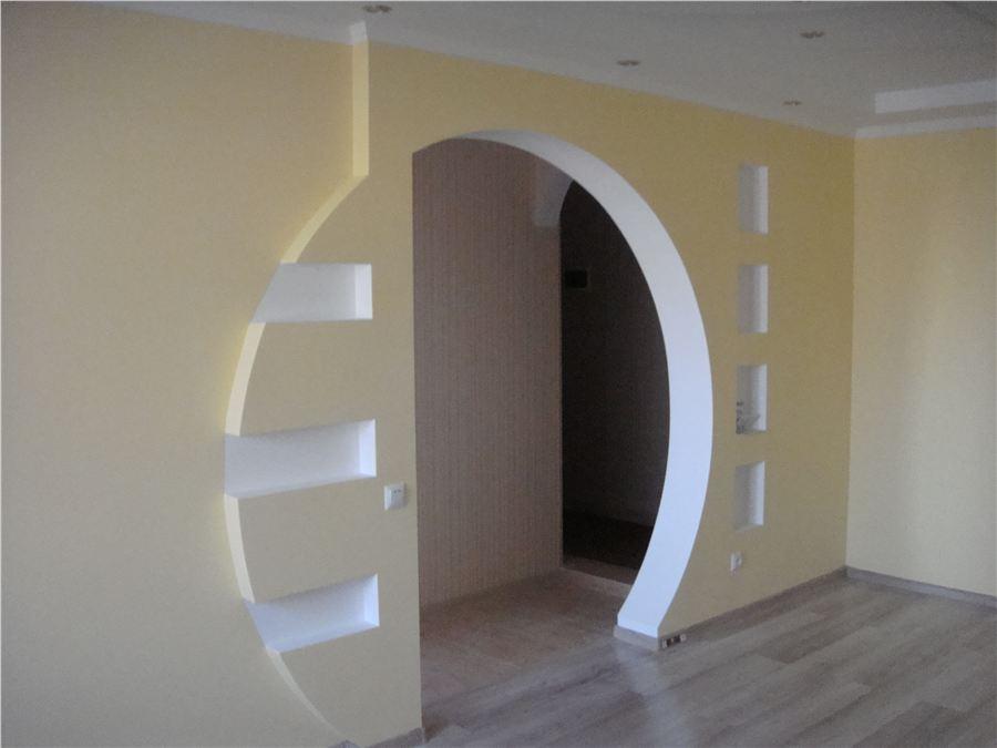 Фото арки из гипсокартона 3