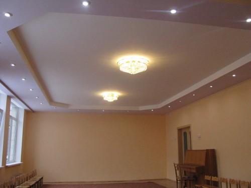 Двухуровненый потолок. Фото 3