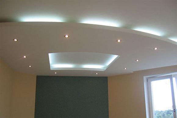 Двухуровненый потолок. Фото 2