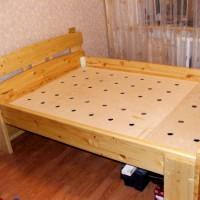 Как самому сделать кровать из дерева. Схемы и чертежи