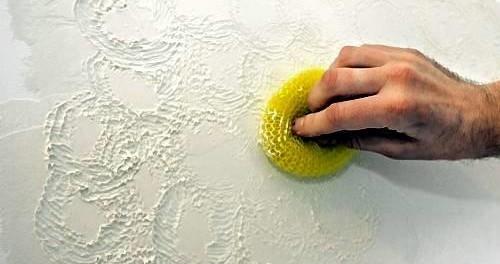 Нанесение декоративной штукатурки своими руками