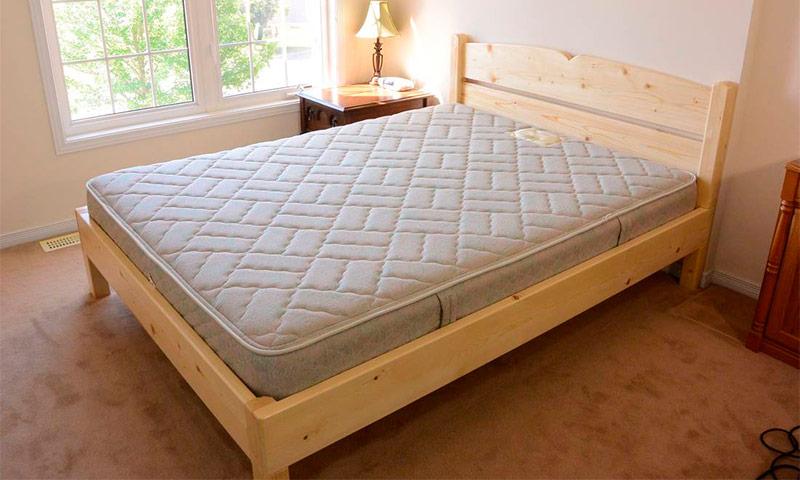 Деревянные кровати своими руками: схемы, чертежи. Как