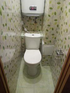 Дизайн туалета с пластиковыми панелями