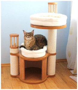 Уютный домик для кошки