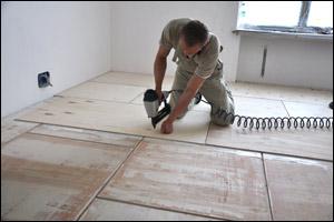 Как положить ОСБ плиту на деревянный пол