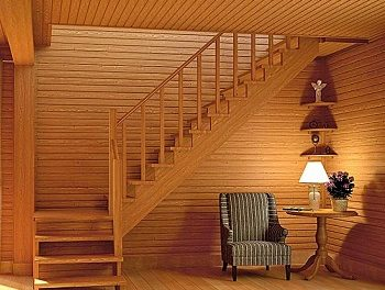 Расчет и монтаж деревянной лестницы на второй этаж своими руками