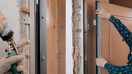 Как правильно установить входную дверь