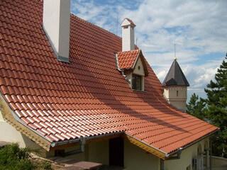 Конструкции крыш частных домов (фото)
