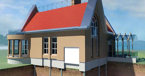 Виды фундаментов для частного дома с фото