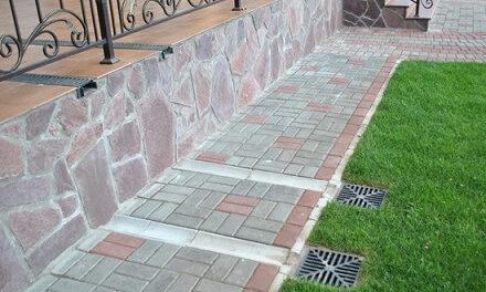 Как положить плитку или камень на улице на бетон