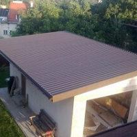 Монолитная крыша своими руками