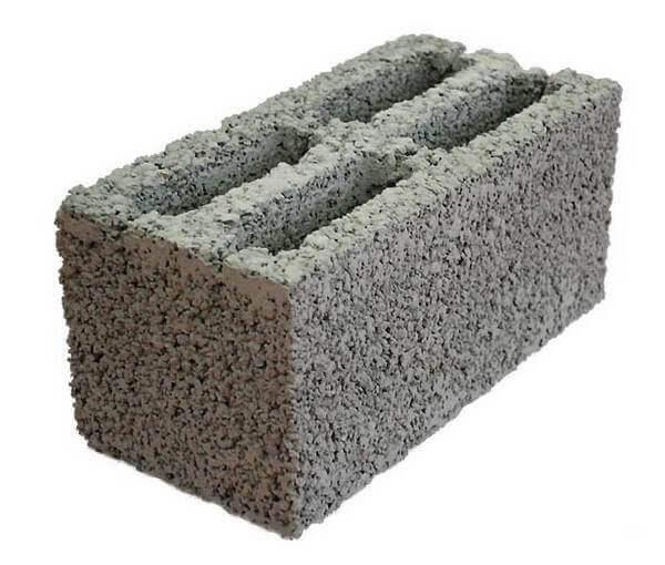 Керамзитобетонный блок для бани