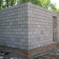 Баня из керамзитобетонных блоков: утепление