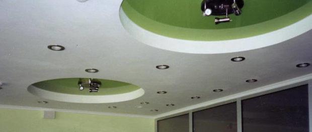 Подвесные потолки из гипсокартона своими руками (фото)