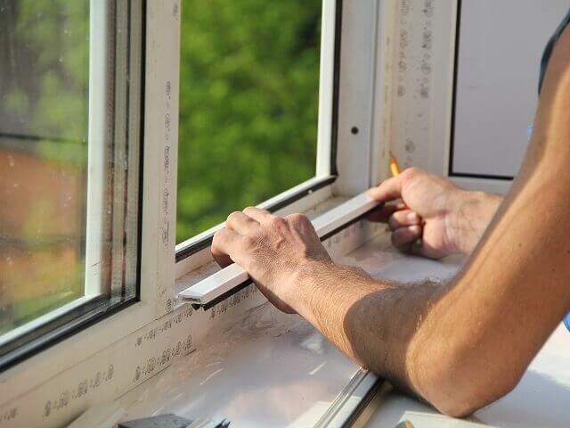 Замеры проема для установка окна ПВХ