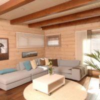 Материалы для отделки стен внутри дома