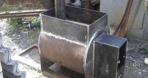 Как самому сварить печь для бани