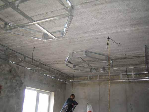 ремонт потолков сталинки фото