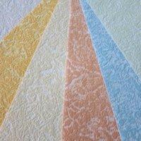 Отделка потолка обоями под покраску