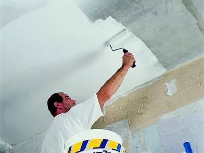 силиконовая водоэмульсионная краска для потолка