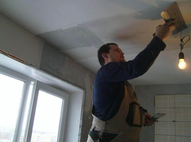 лучшая штукатурка для потолка