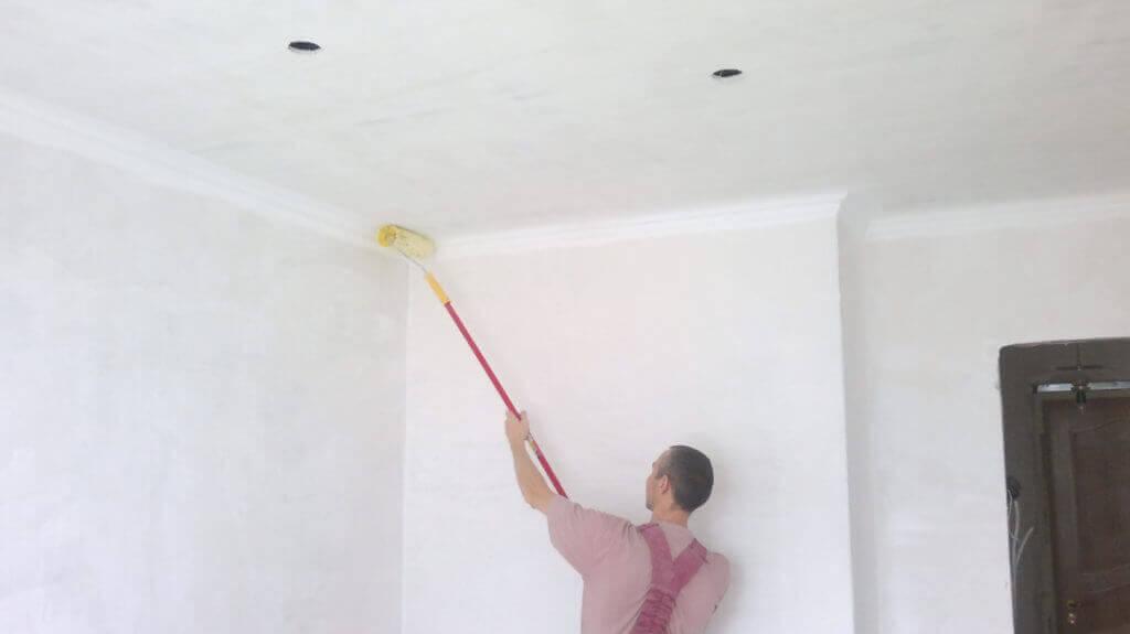отделка потолка покраска варианты