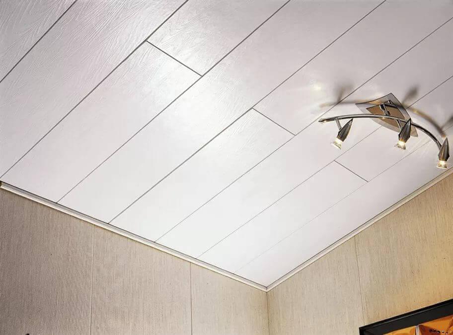 варианты отделки натяжного потолка