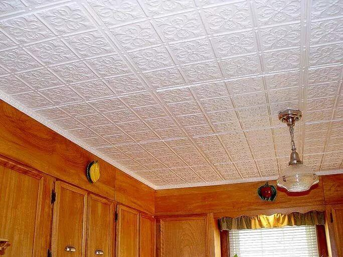 варианты отделки потолка в квартире своими руками
