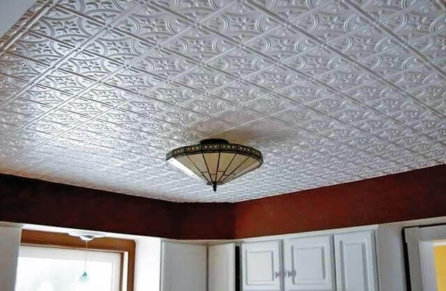 варианты отделки потолка в квартире фото