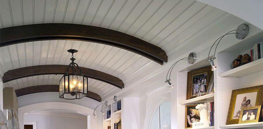 какой потолок прочнее плоский или сводчатый