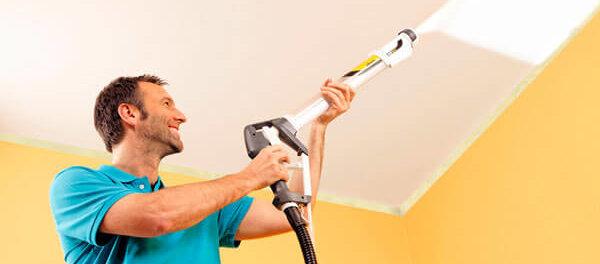 краскопульт для покраски стен и потолков компрессором