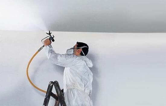 краскопульт для побелки стен и потолков